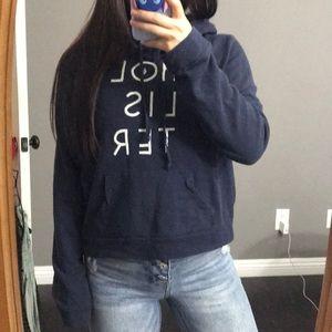 Hollister dark blue hoodie